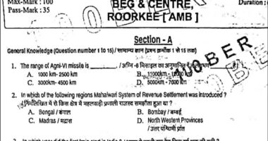 Indian Army Gd original Paper 2021 | 28 March Beg centre Army Question paper | Army GD Question paper 2021